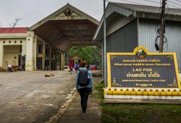 Auf Wiedersehen Vietnam! Willkommen Laos!