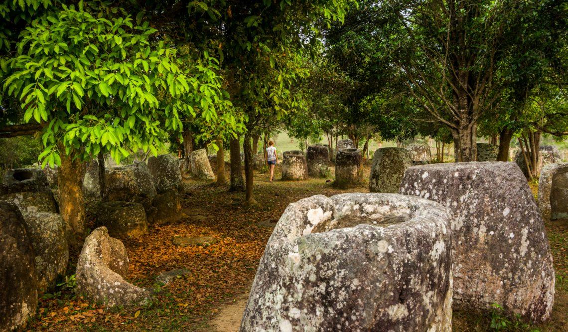 Phonsavan: Plain of Jars oder die Ebene der mysteriösen Steinkrüge